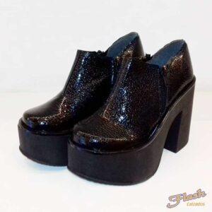 zapato plataforma charol
