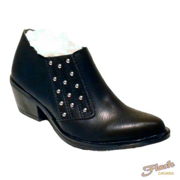 bota texana clasica con tachas